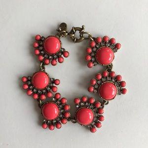 J Crew Baubles & Crystal Bracelet